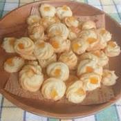 シナモン風味卵白クッキー