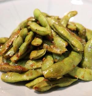 ★ にんにく醤油香る焼き枝豆