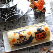 イラストロールケーキ Halloween