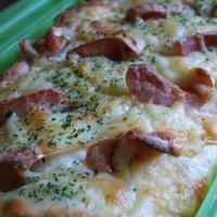 ルクエでウインナ-チーズマヨネーズパンに挑戦!!