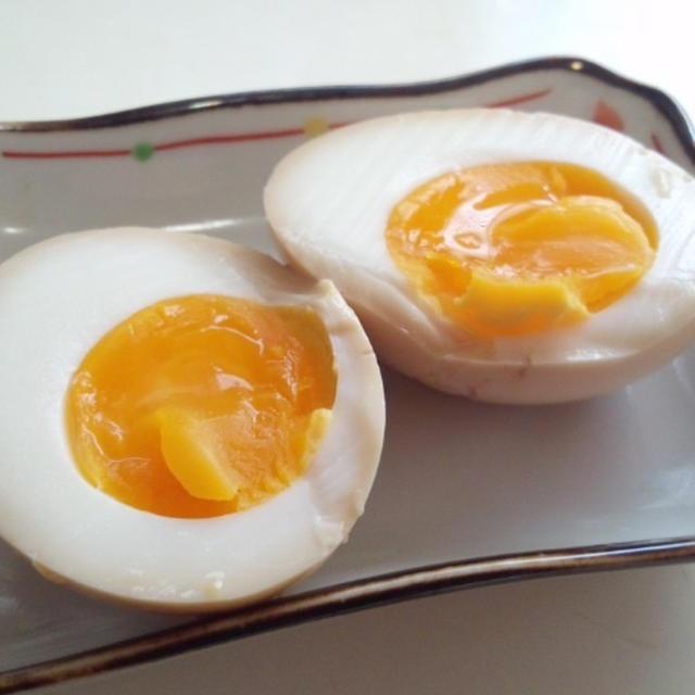 6月20日、青春の日々【煮卵】