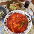 クローブ香る豚肉のトマトソース煮
