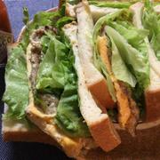 至福の旨さ。8枚切りパンとサバ缶で作るサバサンド(半糖質制限) by ねこやましゅんさん