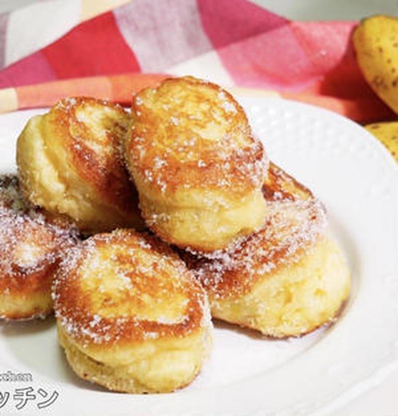 ホットケーキミックスで簡単!「バナナ×ドーナツ」のお手軽レシピ
