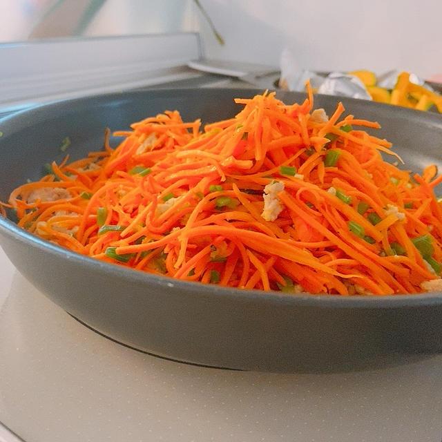 クミン風味❤︎にんじん塩きんぴら*リクエストご飯とおやつ