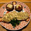 鮭の粒マスタード焼き