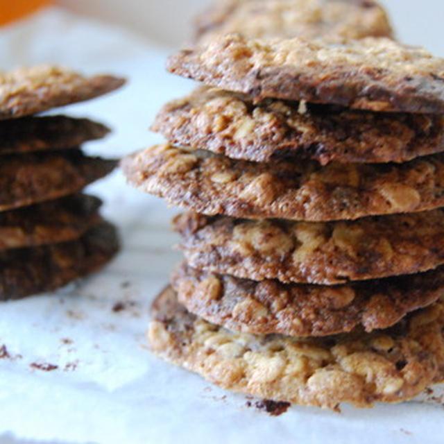 アイスのためのチョコチップクッキー