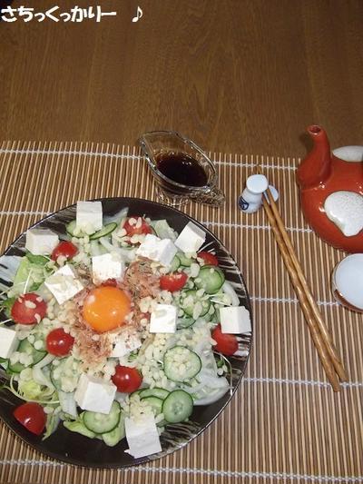 簡単美味しい★ぶっかけ風サラダ