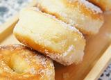捏ねない!フライパンでふわん♪とろけるドーナツ by 珍獣ママさん