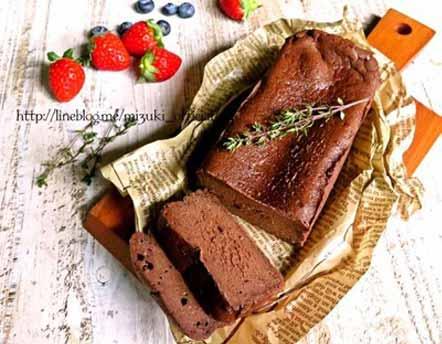 ♡チョコ好きさんに捧ぐ♡超簡単生チョコケーキ♡